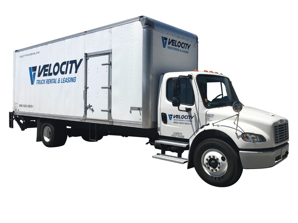 26' Box Truck for Rental & Leasing