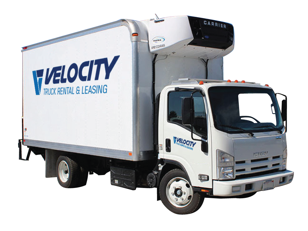 16' Refrigerated Truck for Rental & Leasing