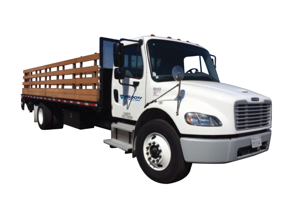 24' Stake Bed Trucks for Rental & Leasing