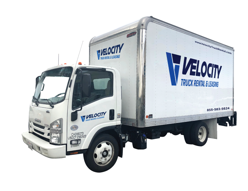 16' Box Truck for Rental & Leasing